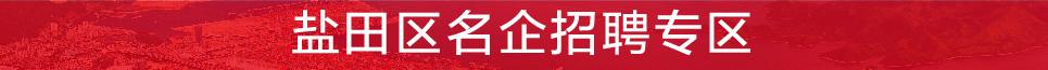 盐田区劳动就业管理办公室 招聘
